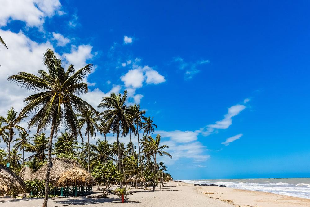Stranden in Guajira