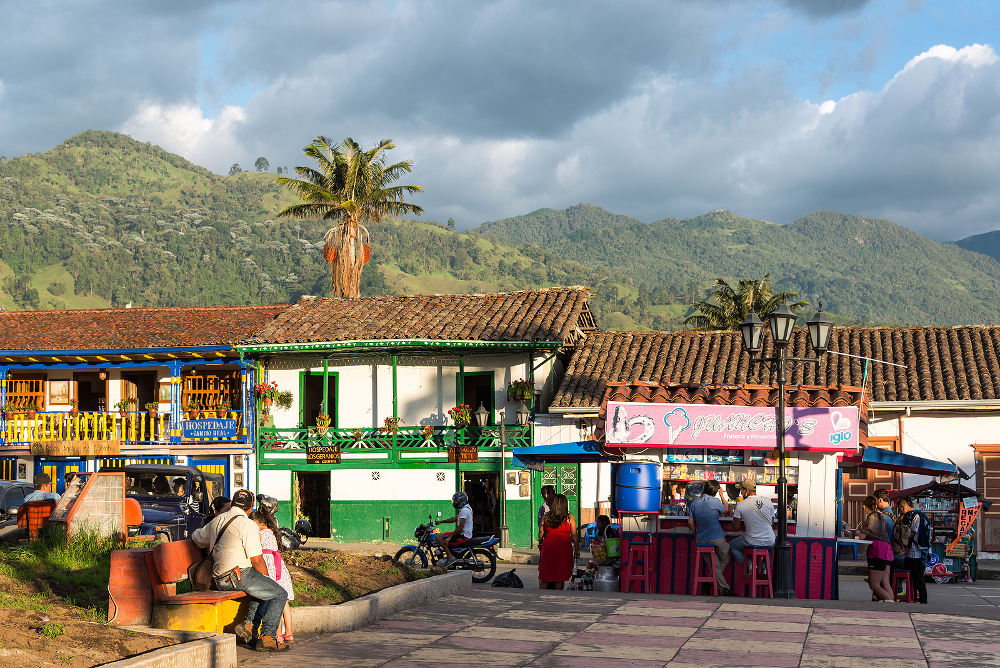 Plaza Bolivar Salento