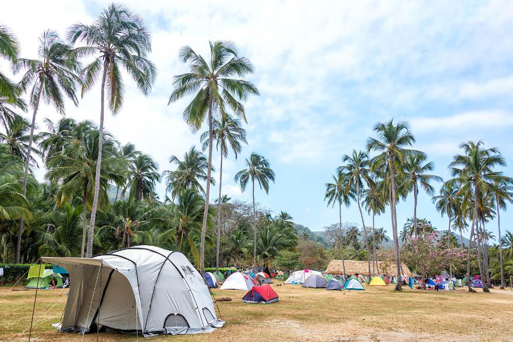 Camping Cabo San Juan