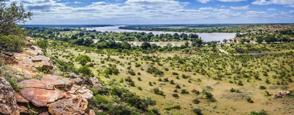 Mapungubwe-national-park-Limpopo rivier in Mapungubwe National Park