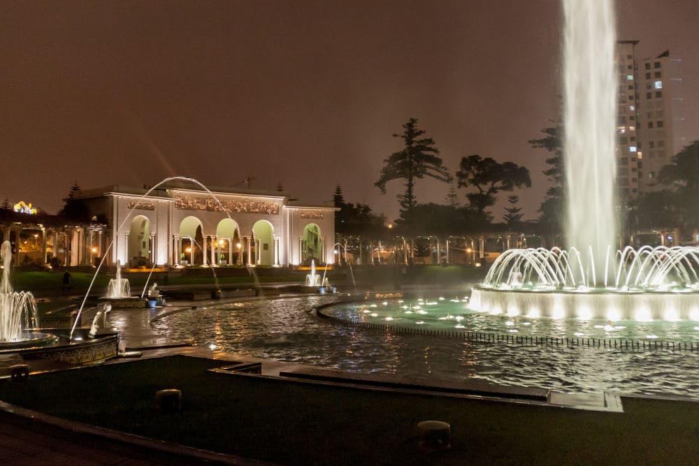 El Circuito Magico del Agua in Lima