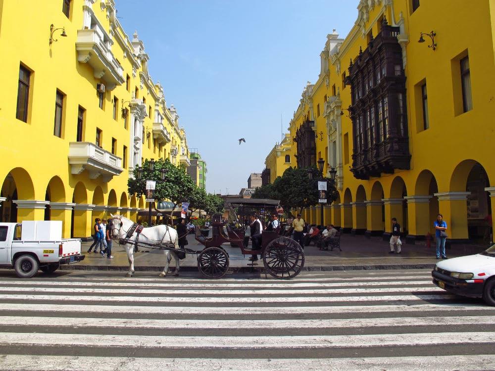 Plaza Mayor in Lima