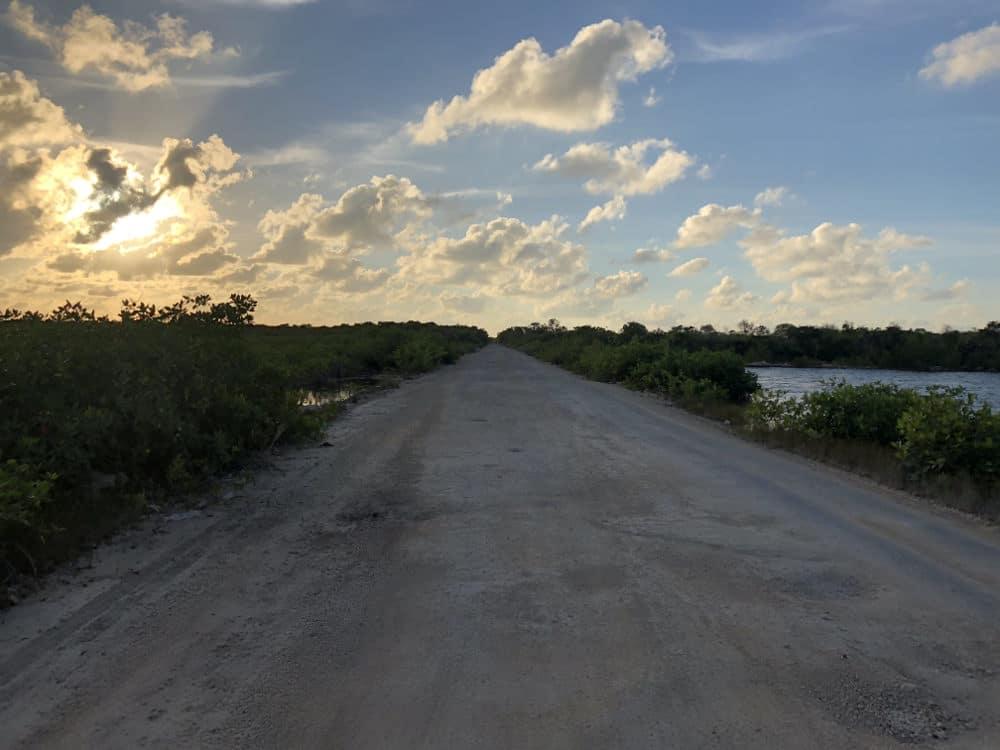 Zonsondergang Ambergris Caye