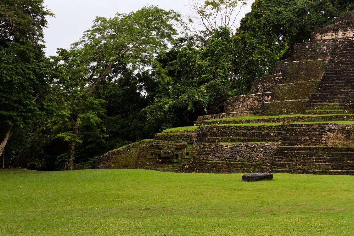 Lamanai tempel