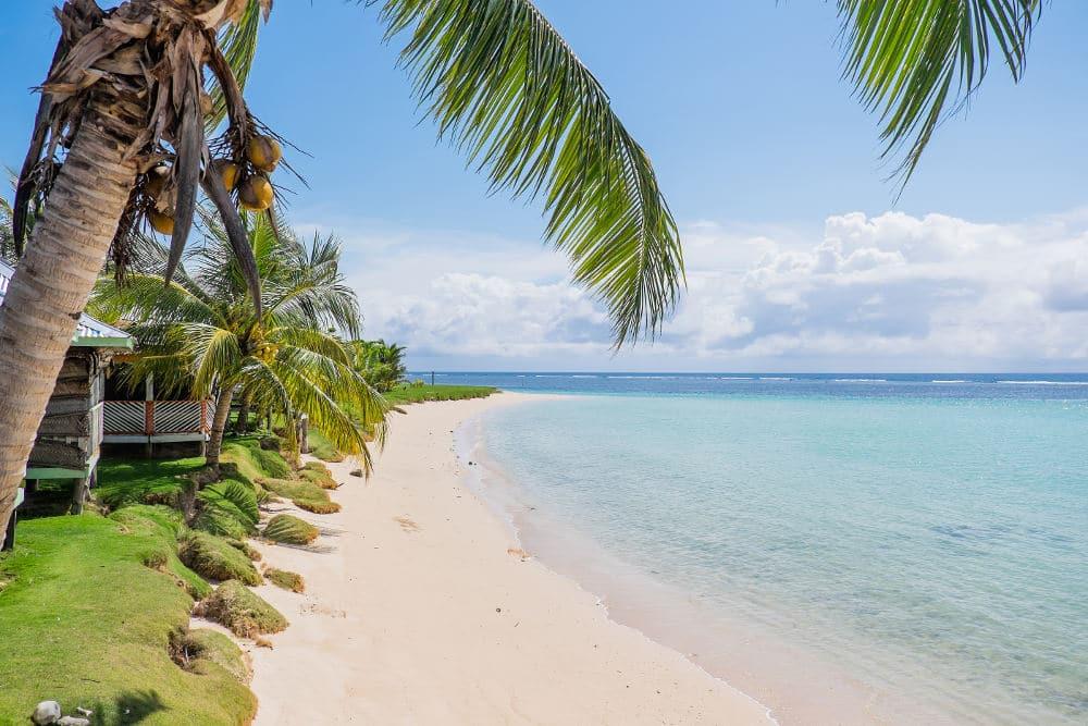 Manase Beach op Savai'i