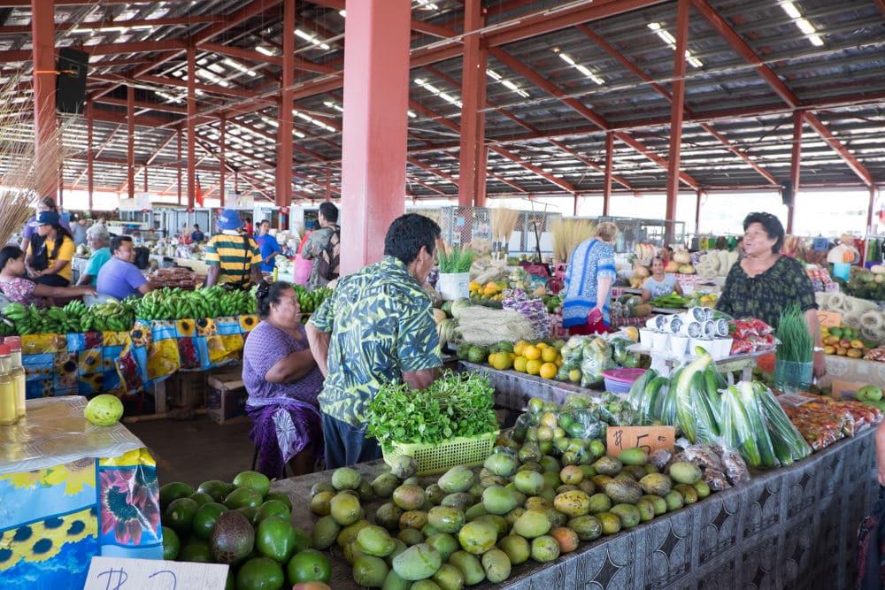 Markt in Apia