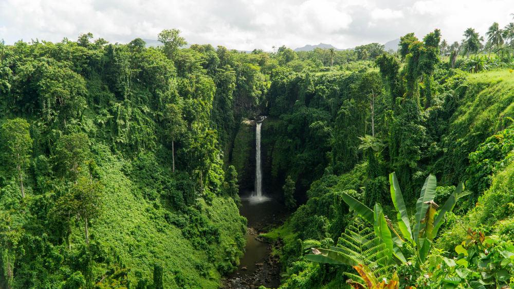 Sopoaga Falls in Samoa