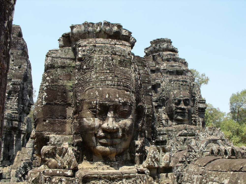 Berste Angkor tempels