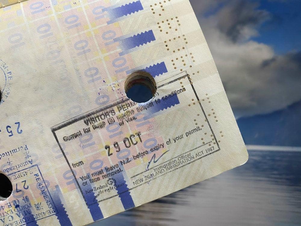 Visum voor Nieuw-Zeeland