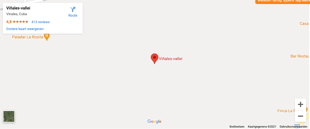 Locatie Valle de Vinales
