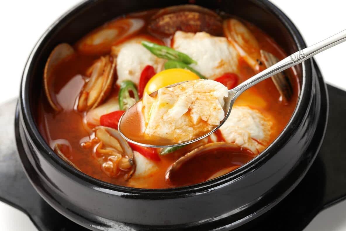 Sundubu-jjigae - Korean Foodguide