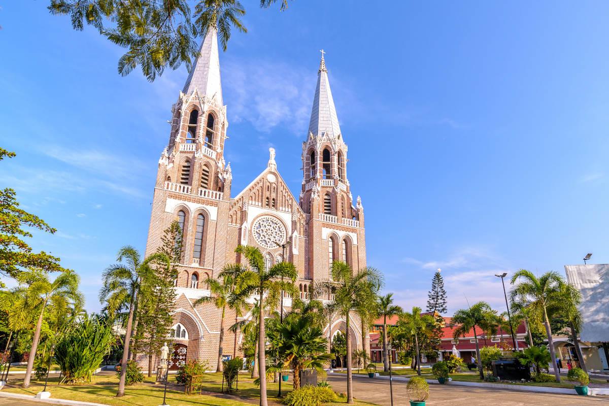 Saint Marys Cathedral Myanmar